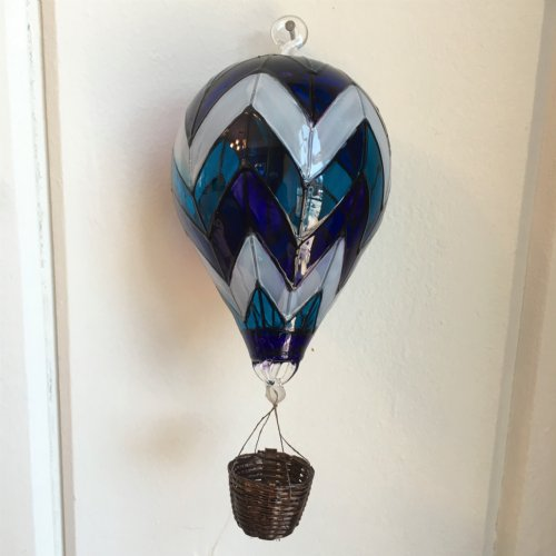 Large Glass Hot Air Balloon