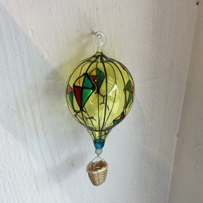 Medium Glass Hot Air Balloon