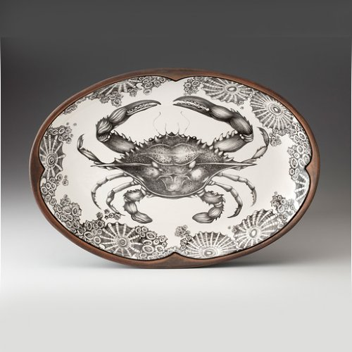 Crab Small Oval Platter